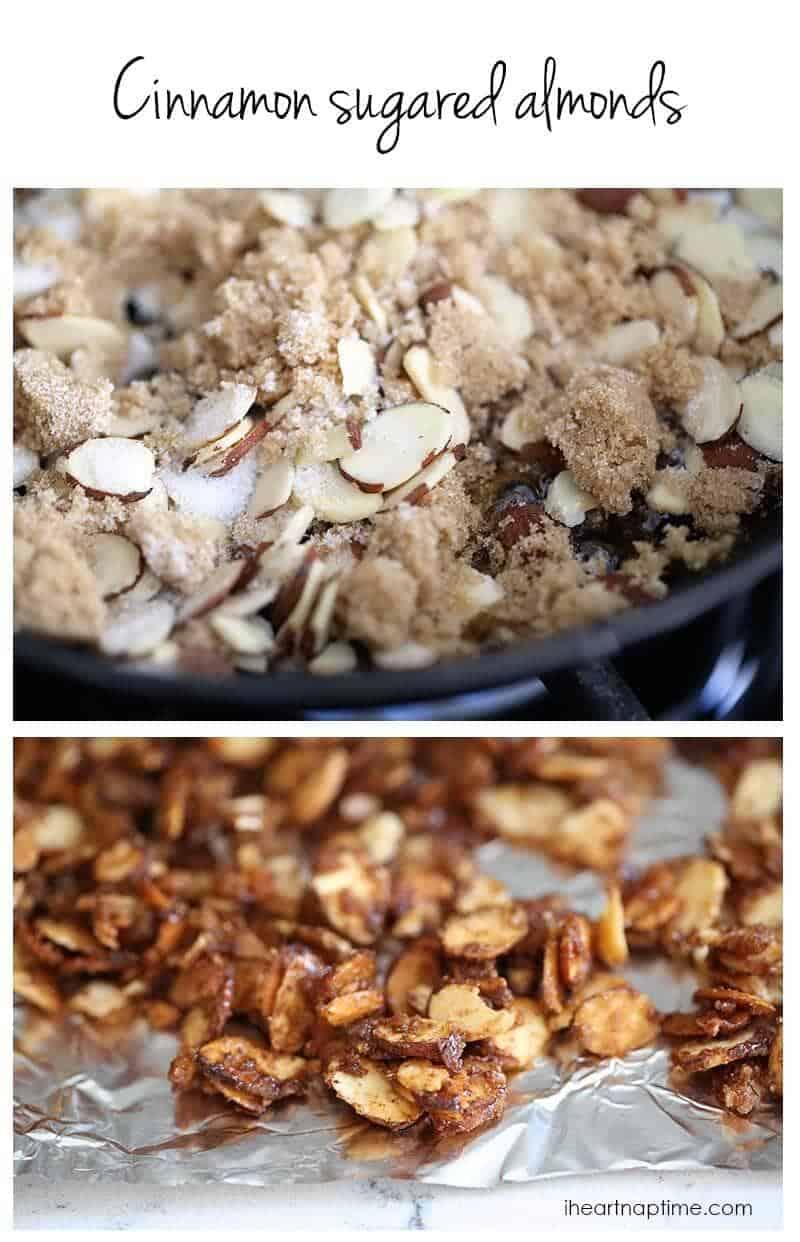 How to make cinnamon sugared almonds