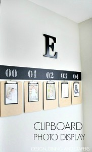 Easy-Clipboard-Photo-Display-Tutorial-via-designdininganddiapers.com_