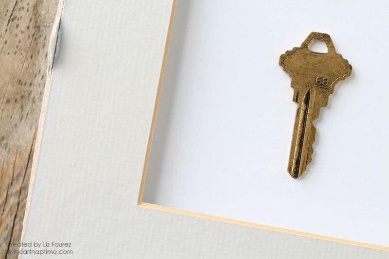 Framed Key Specimen Art