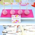 Free confetti party printables