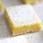 Lemon bars recipe on I Heart Nap Time