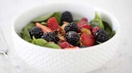 Nuts about berries salad