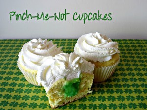 Pinch Me Not Cupcakes