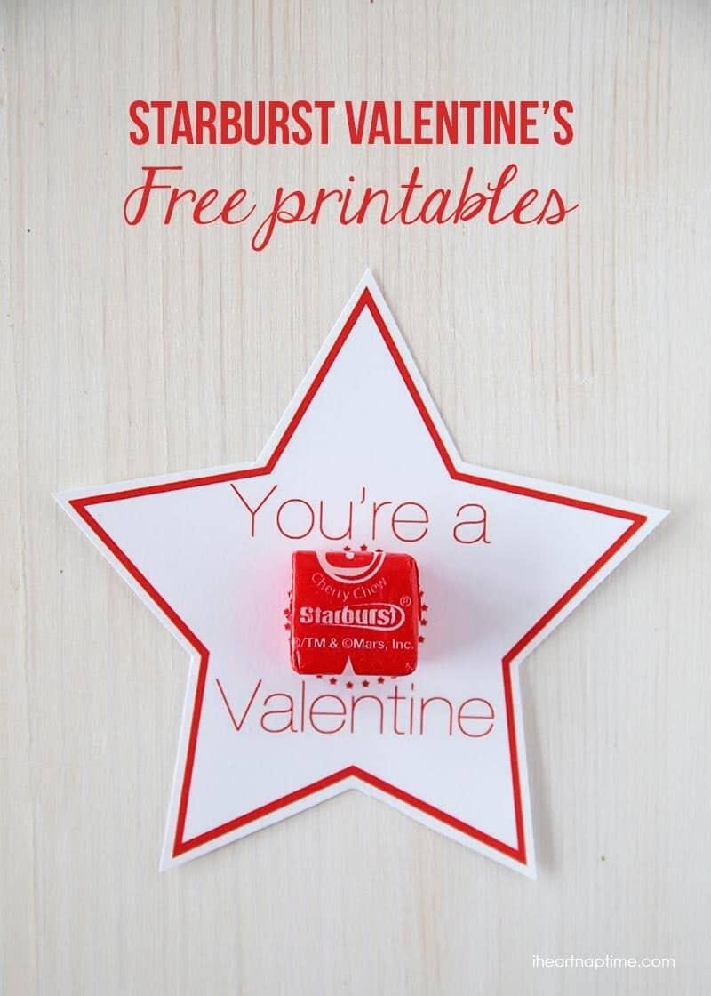 starburst valentines free printables i heart nap time