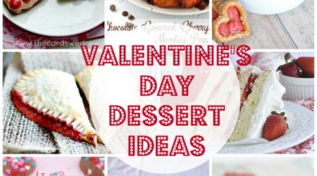 20 Valentine's Dessert Ideas {Link Party Features}