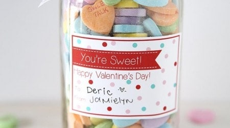 You're sweet Valentine's Day printable