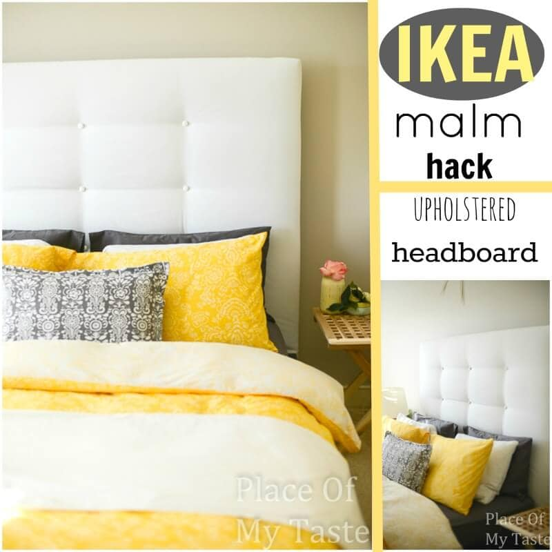 ikea hack headboard