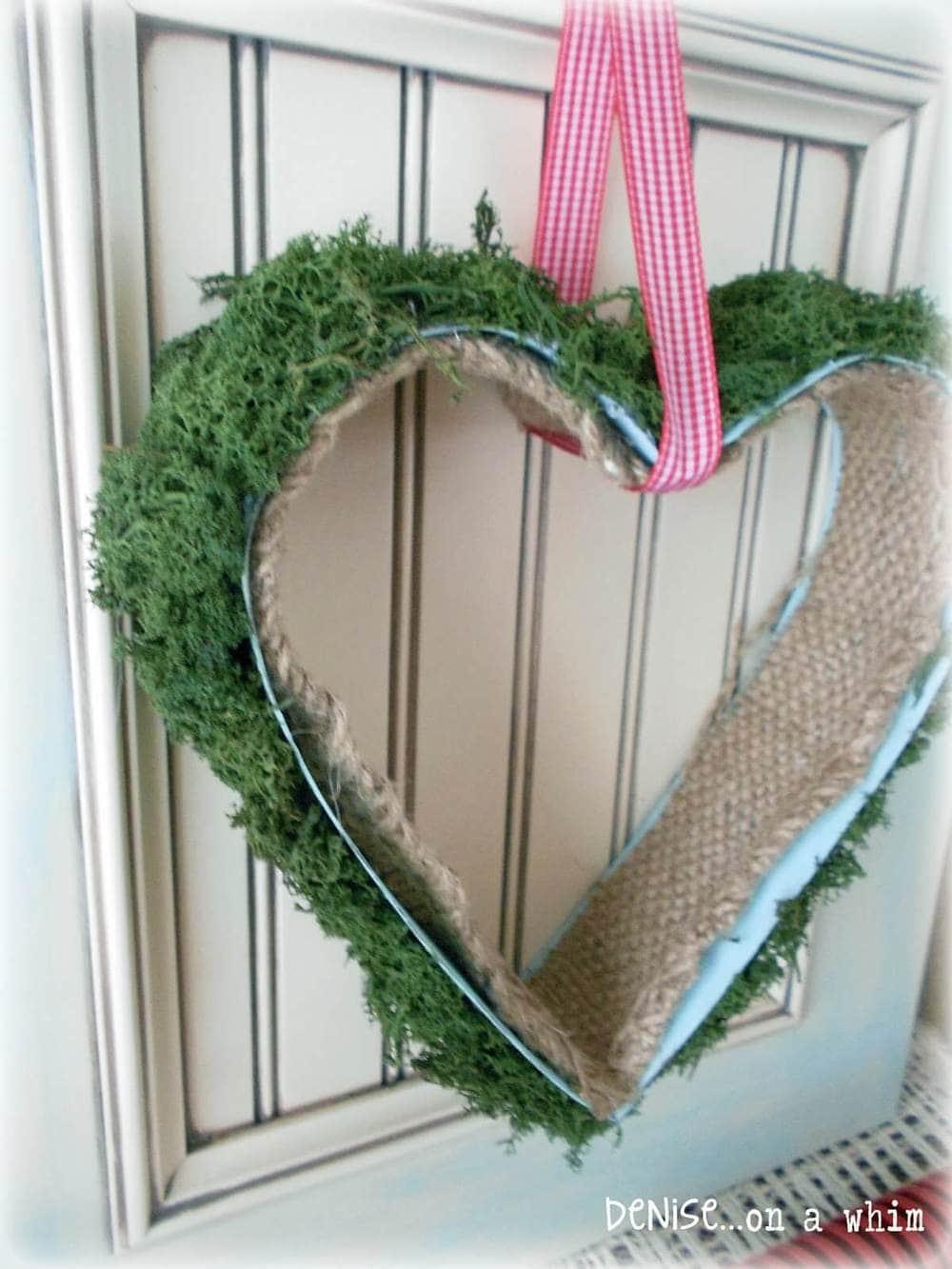 mossy heart