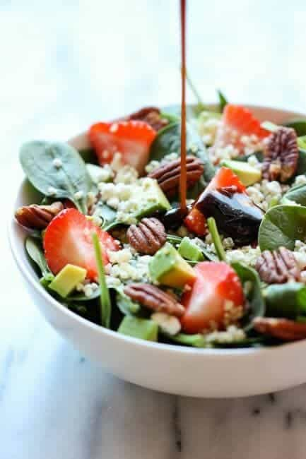 strawberrey quinoa salad