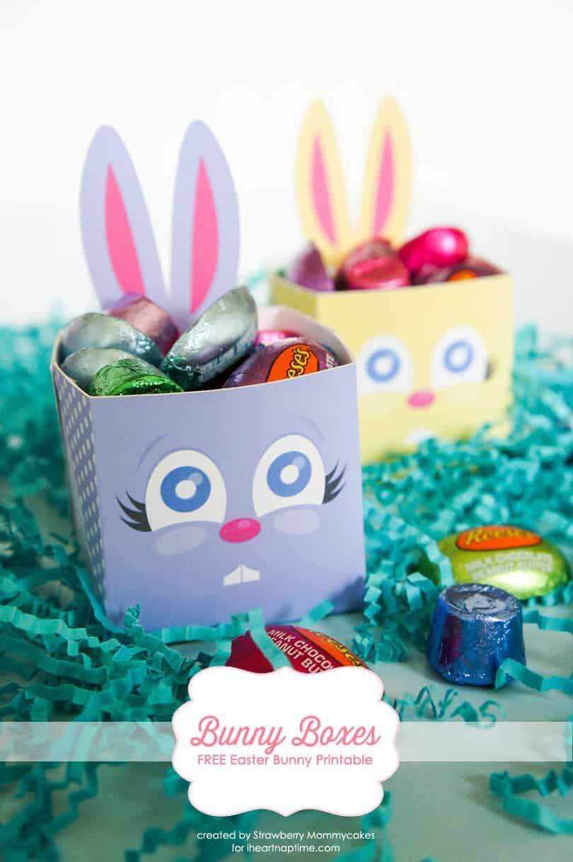 Bunny Boxes FREE Easter Bunny Printable