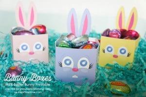 Bunny Boxes FREE Easter Bunny Printable on www.iheartnaptime.com #easterbunnyprintable #freeeasterprintable #freeprintable #easter