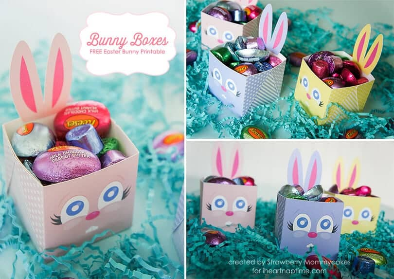 Bunny boxes free easter bunny printable i heart nap time bunny boxes free easter bunny printable negle