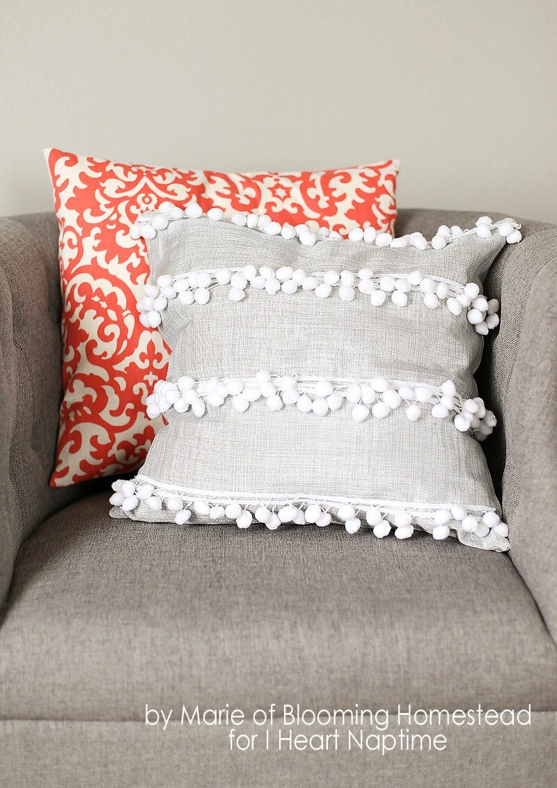 Decorative Pillow Cover Diy : 10 DIY Throw Pillow Ideas