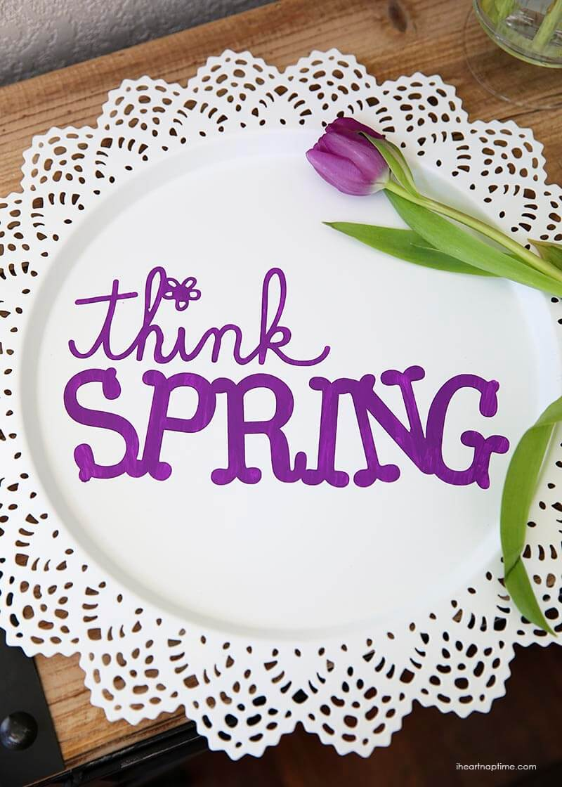 DIY spring art