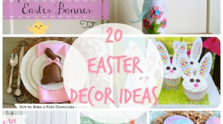 20 DIY Easter Ideas {Link Party Features}