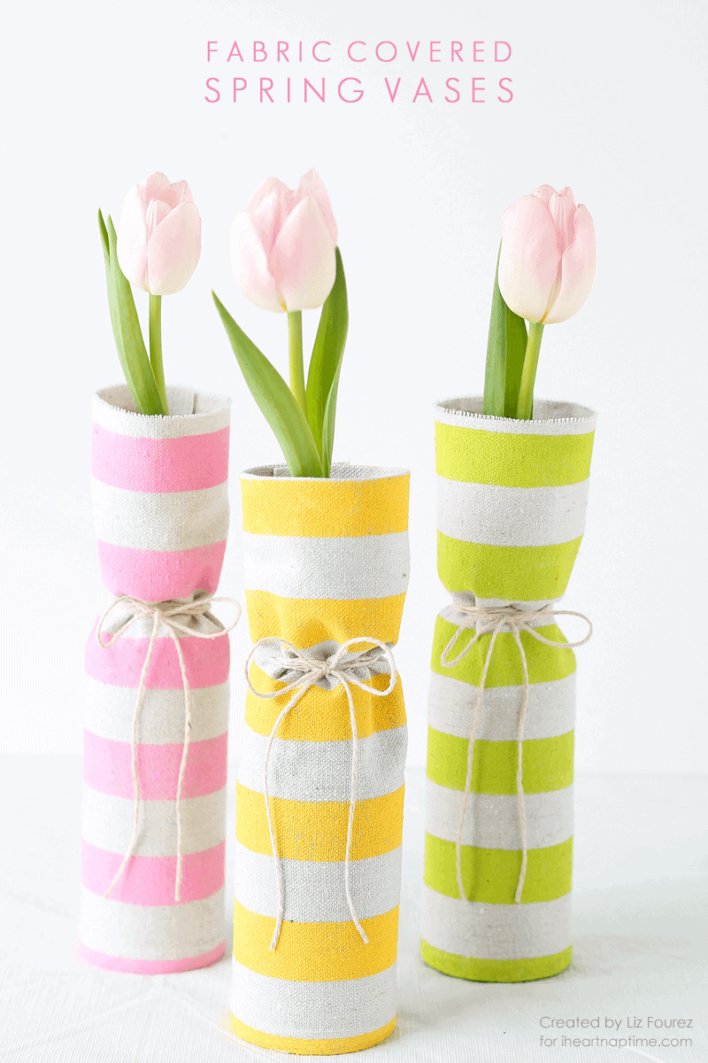 Fabric covered spring vases i heart nap time fabric covered spring vases reviewsmspy