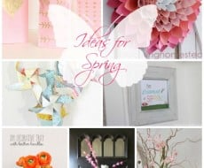 Ideas for Spring