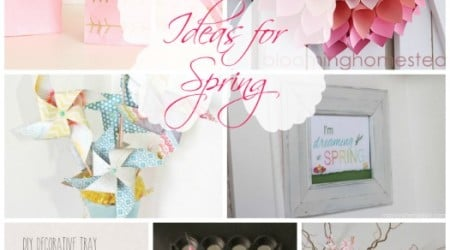 20 Spring Ideas {Link Party Features}