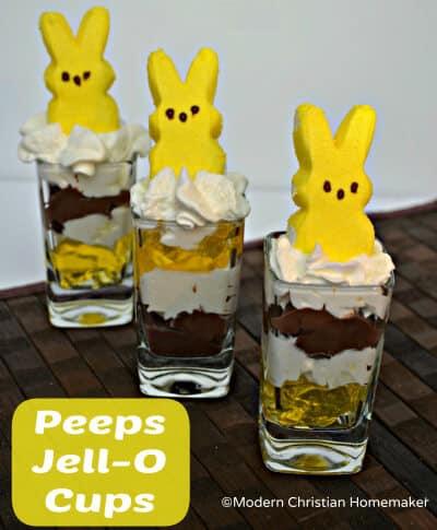 PeepsJelloCups