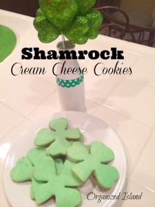 Shamrock-Cream-Cheese-Cookies