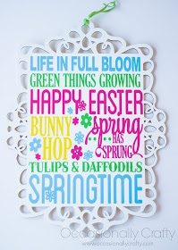 Spring Subway Art Plaque