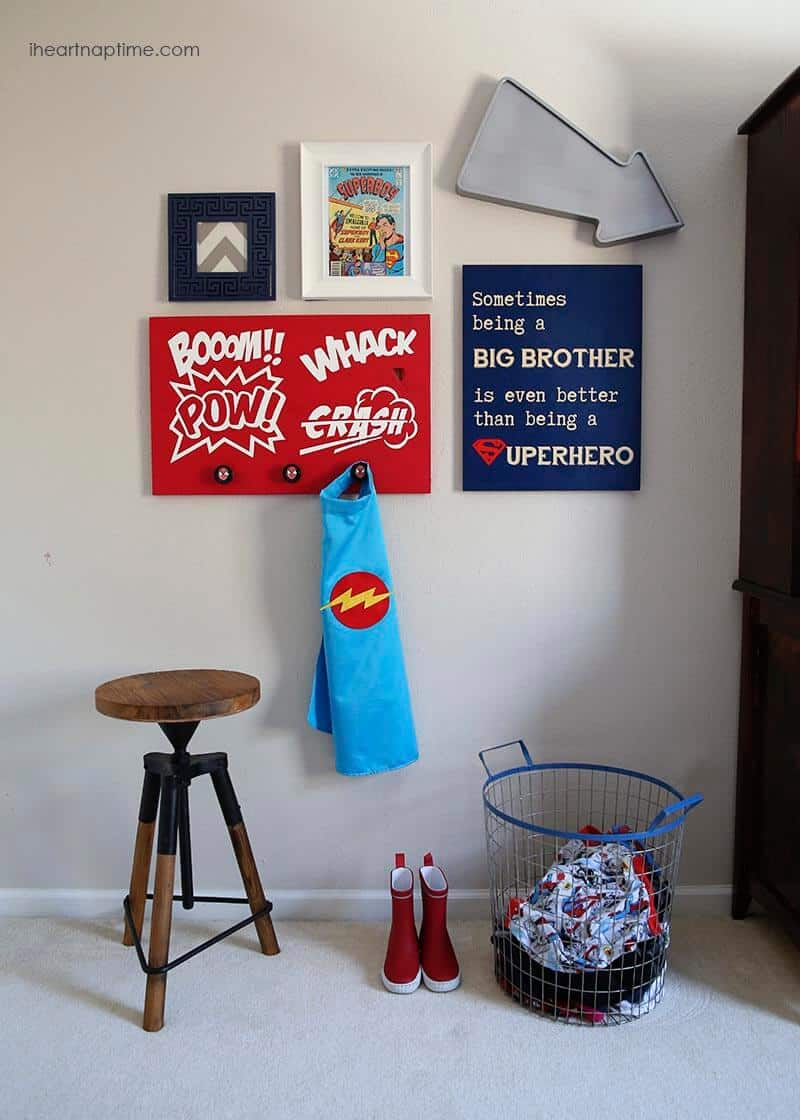 Superhero room