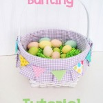 easter basket bunting