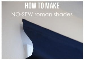 how to make roman shades feature