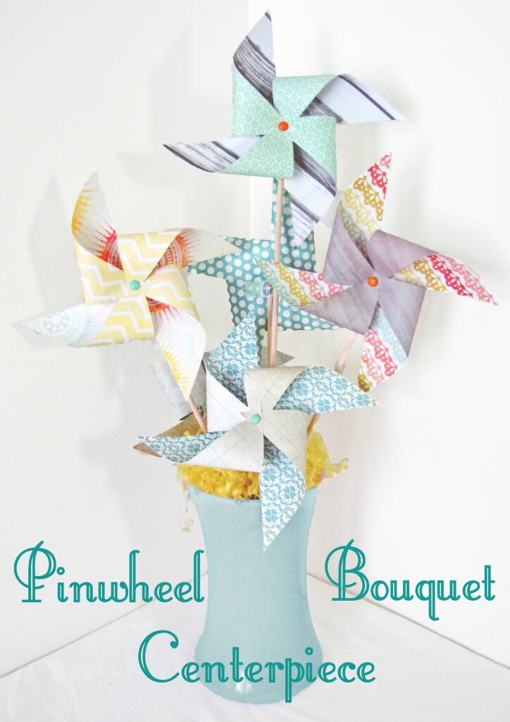 pinwheel bouquet