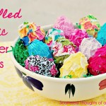 ruffled fabric easter eggs title