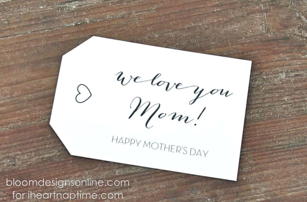 Mothers day gift tags i heart nap time mothers day gift tags on iheartnaptime negle Gallery