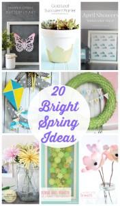 20 Bright Spring Ideas