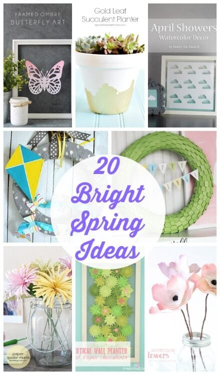20 Bright Spring Ideas