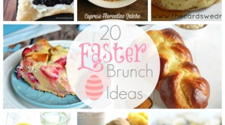 20 Easter Brunch Ideas {Link Party Features}