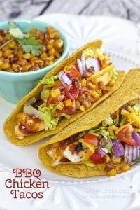 BBQ Chicken Tacos title