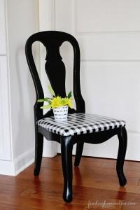 Blackwhitepicniccheckupholsteredchair_thumb