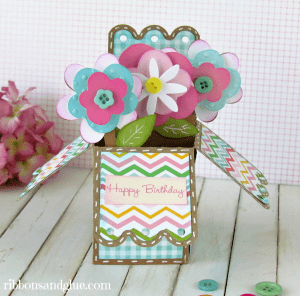 Flower Box Card