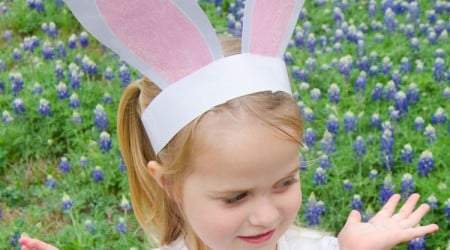 FREE Printable Bunny Ears by Love The Day for I Heart Nap Time