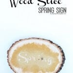 Gold-Glitter-Wood-Slice-Spring-Sign-Tutorial