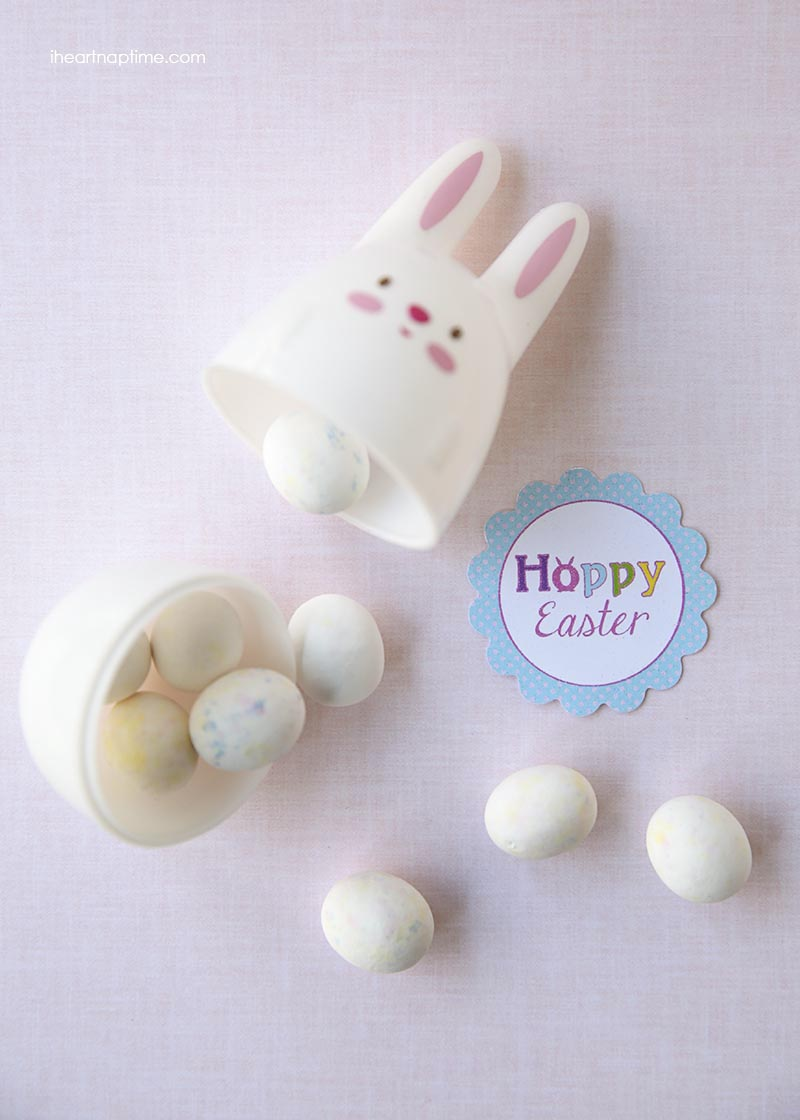 Hoppy Easter free printable on I Heart Nap Time