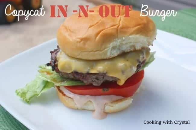 Copycat In and Out Burger