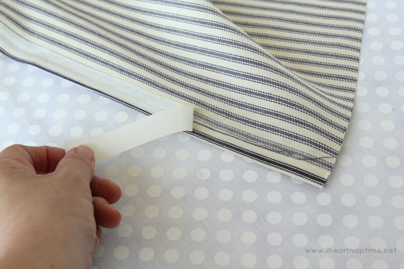 No Sew Pillow on iheartnaptime.com