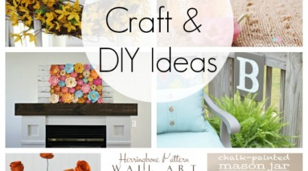 20 Spring Craft and DIY Ideas {Link Party Features}