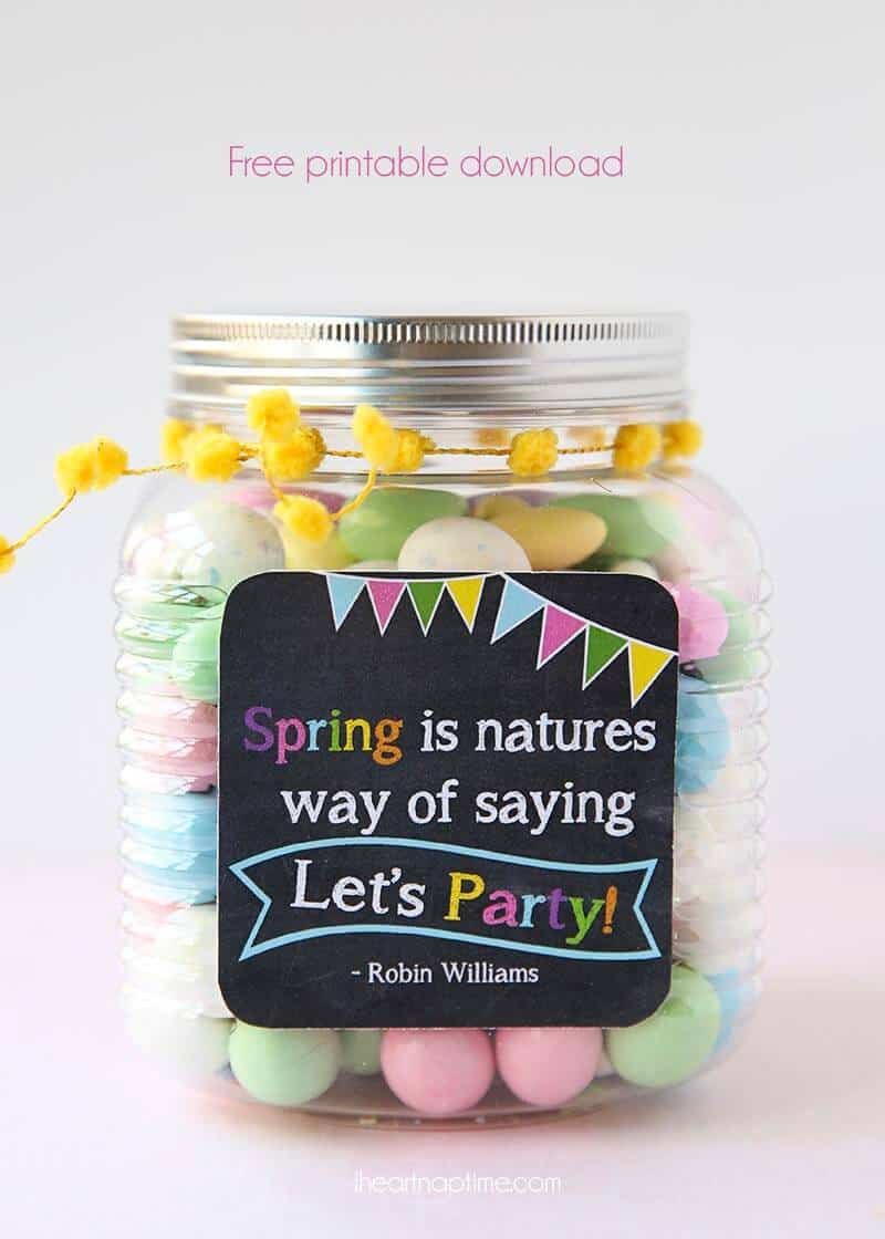 Spring printable download