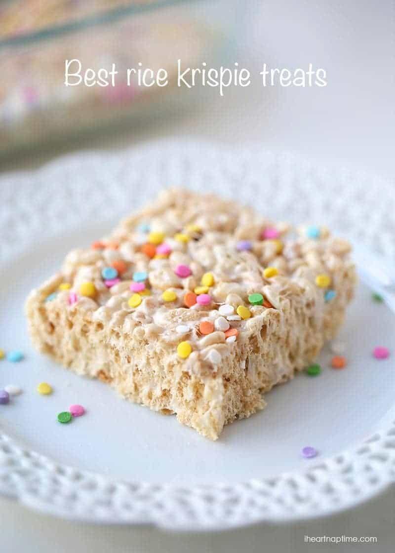 The best rice krispie treats