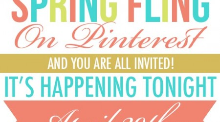 Spring Fling Pinterest Party!