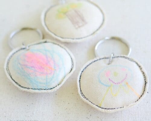 Mother's Day Craft, Kid Craft Key Chain