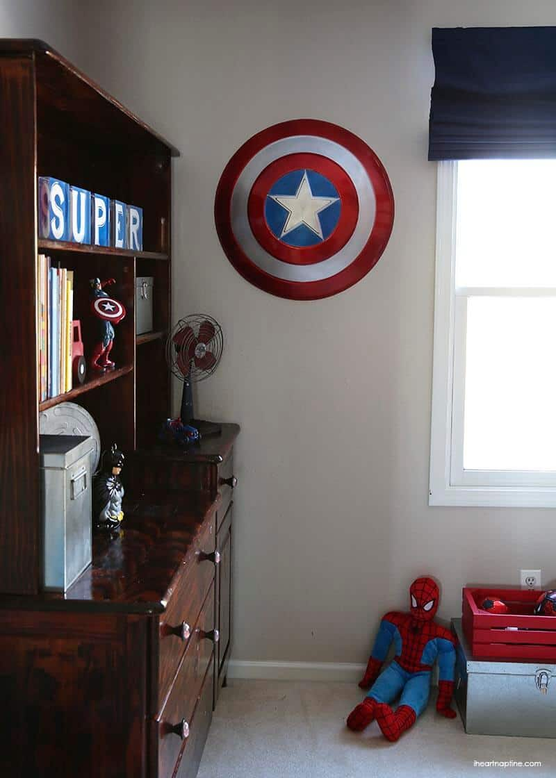 Super Room. My Son Loves Captain America ...