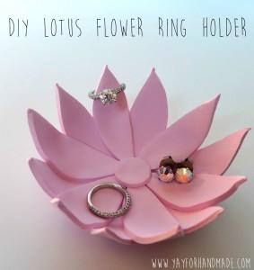 Lotus Flower Jewelry holder