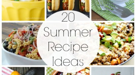 20 Summer Recipe Ideas